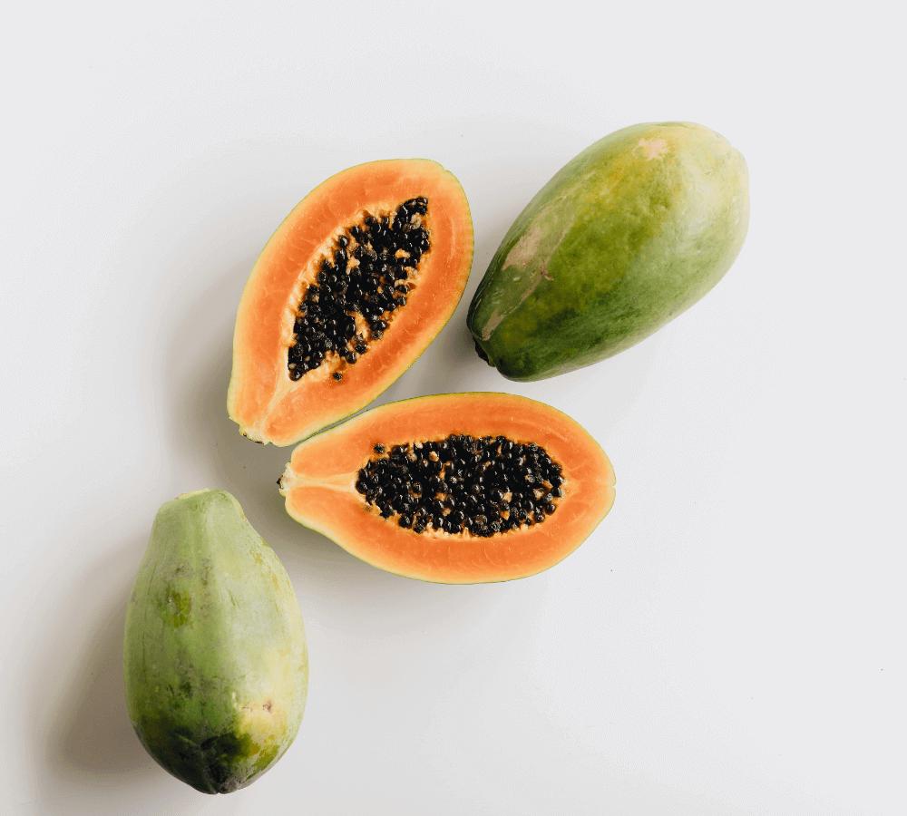 enzymatic face scrub for men papaya