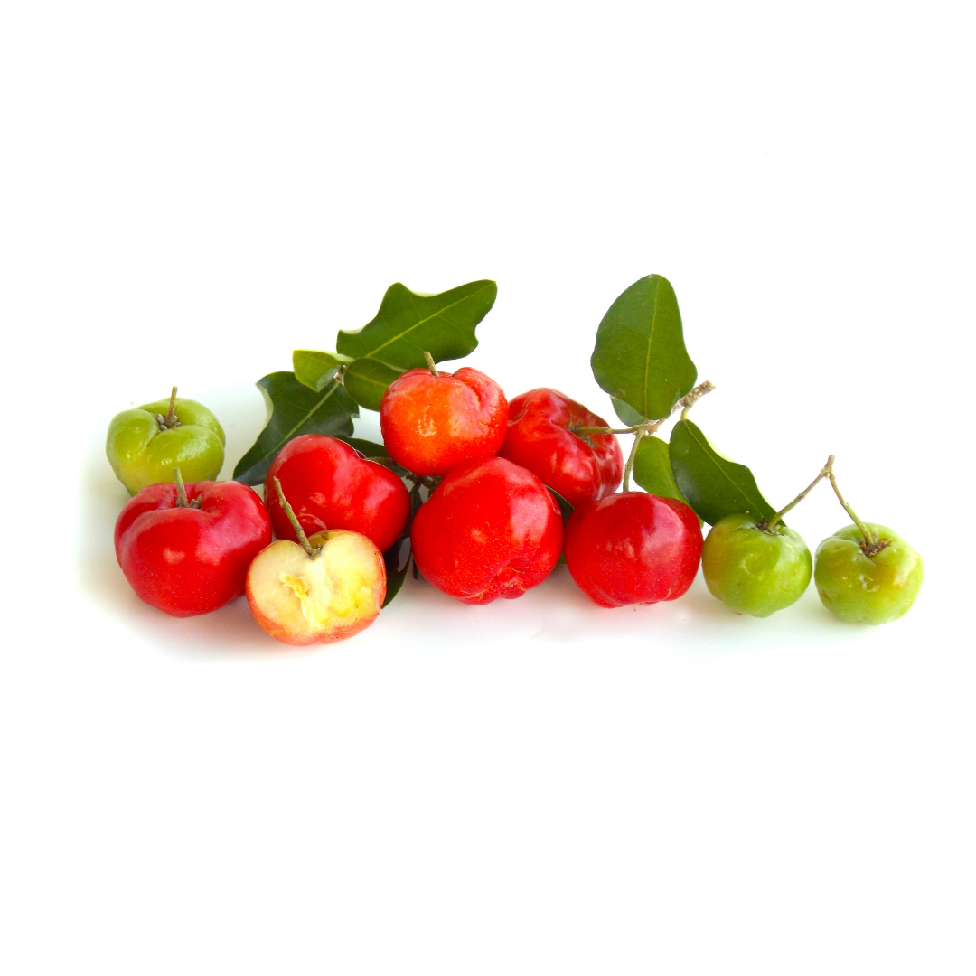 Acerola cherry organic skincare